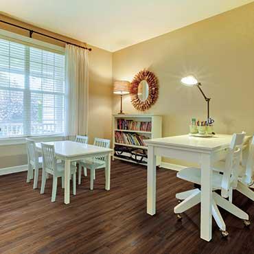 Sewing/Craft Rooms | US Floors COREtec Plus Luxury Vinyl Tile