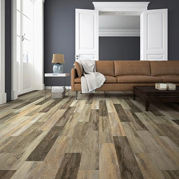 Living Rooms | US Floors COREtec Plus Luxury Vinyl Tile