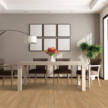 Dining Room Areas | US Floors COREtec Plus Luxury Vinyl Tile