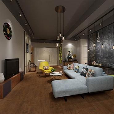 Living Rooms | GreenTouch Hardwood Flooring