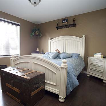 Bedrooms | PG Model® Hardwood Flooring