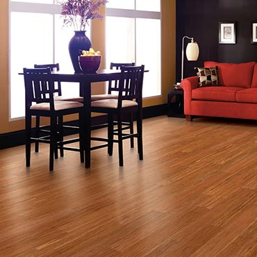 Natural BAMBOO® Flooring | Dining Room Areas - 3367