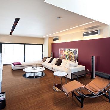 Natural BAMBOO® Flooring | Living Rooms
