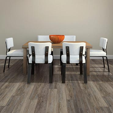 US Floors COREtec Plus Luxury Vinyl Tile | Dining Room Areas - 3444
