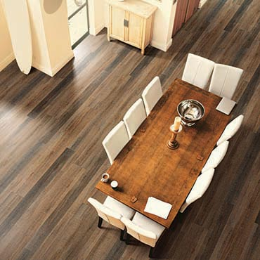 US Floors COREtec Plus Luxury Vinyl Tile | Dining Room Areas - 3458