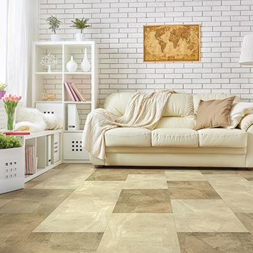 US Floors COREtec Plus Luxury Vinyl Tile | Family Room/Dens - 3468