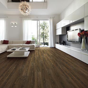 US Floors COREtec Plus Luxury Vinyl Tile | Family Room/Dens - 3475