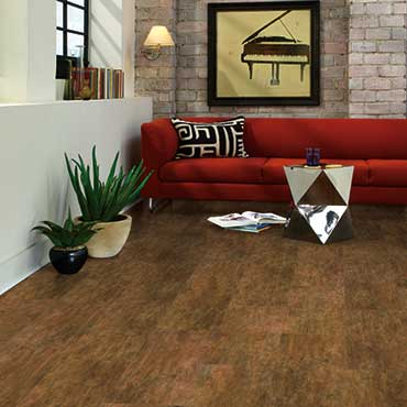 US Floors COREtec Plus Luxury Vinyl Tile | Family Room/Dens - 3492