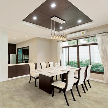 US Floors COREtec Plus Luxury Vinyl Tile | Dining Room Areas - 3494