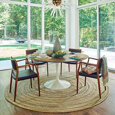 Capel Rugs | Dining Room Areas