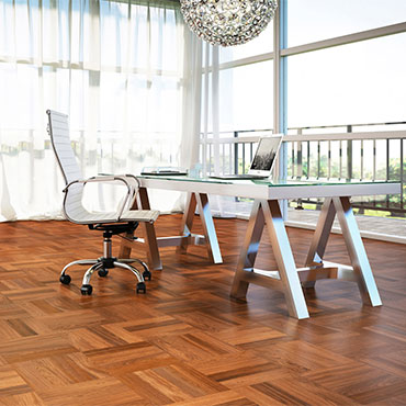 Lauzon Hardwood Flooring   Home Office/Study - 6815