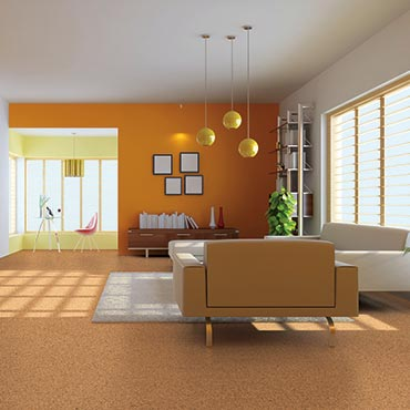 Natural CORK® Flooring | Living Rooms - 3398