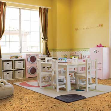 Natural CORK® Flooring | Game/Play Rooms