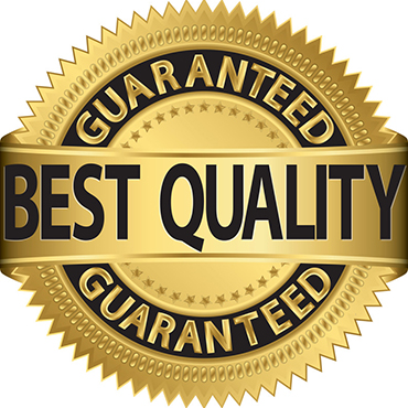 Our installation services are supported by a quality assurance program.
