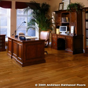 Home Office Study flooring idea Anderson Jacks Creek Honey