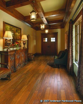 Appalachian Hardwood Flooring shaw appalachian hickory 5 in w prefinished hickory engineered hardwood flooring frontier Entryfront Porchs Designs Courtesy Of Anderson Encore Plus All Rights Reserved