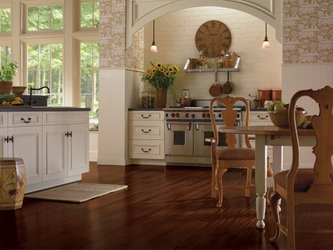 Kitchens Designs Courtesy Of Armstrong Hardwood Flooring
