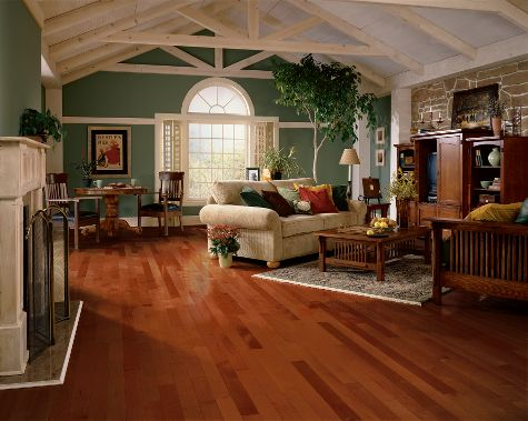 Living rooms flooring idea maple cherry by armstrong for Armstrong design a room