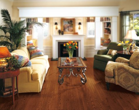 Living rooms flooring idea oak cabernet by armstrong for Wood flooring ideas for living room