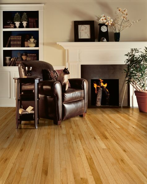 Living rooms flooring idea oak pioneer natural by for Living room ideas oak flooring