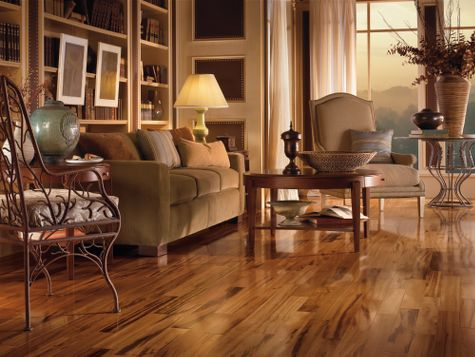 Hardwood Flooring Ideas Living Room Pleasing Living Rooms Flooring Idea  Tigerwood Naturalarmstrong . Decorating Design
