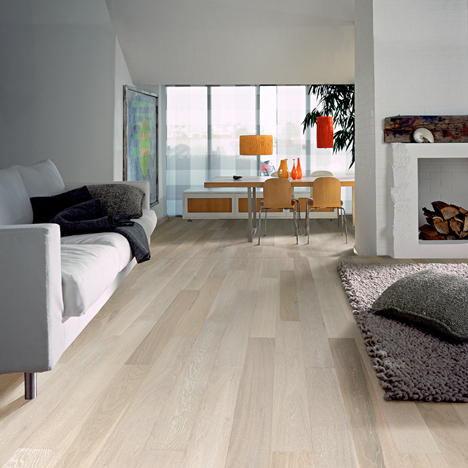 Living Rooms Flooring Idea Arctic Oak By K Hrs Hardwood