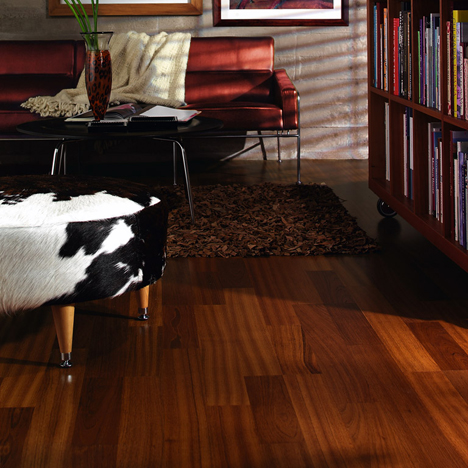 living rooms flooring idea linnea brazilian cherry by