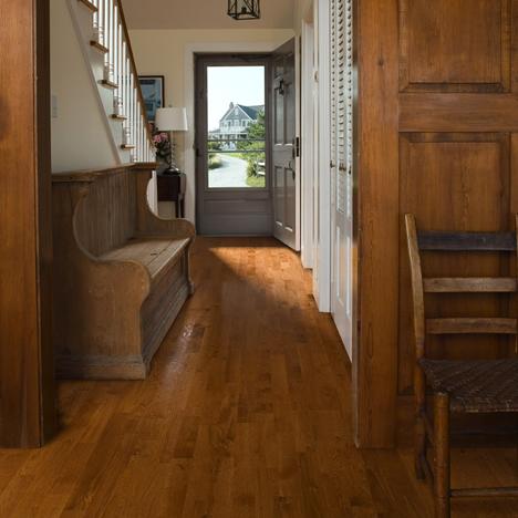 Foyers entry flooring idea oak san jos by k hrs for Cheap hard flooring ideas