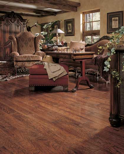 Living Rooms Flooring Idea Chesapeake Hickory Plank By Mannington