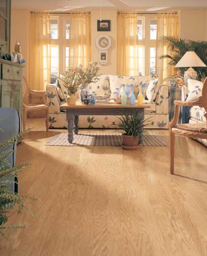 Living Rooms Flooring Idea Concord Oak Plank By Mannington Hardwood Flooring