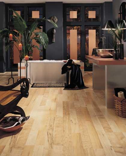 Bathrooms flooring idea Natural Berkshire Maple by Mannington