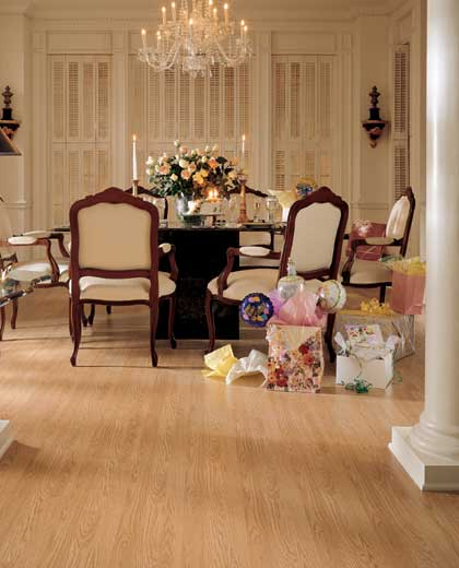 Dining Room Areas Designs Courtesy Of Mannington Laminate Flooring All Rights Reserved