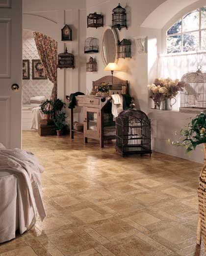 Bathrooms flooring idea french cottage by mannington Cottage floor