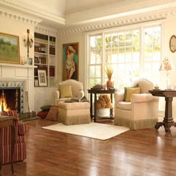 Gallery For Cherry Hardwood Flooring In Living Room