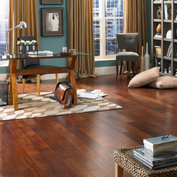 Home Office/Study Designs Courtesy Of Mannington Hardwood Flooring   All  Rights Reserved.