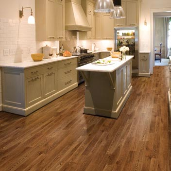 Kitchens flooring idea mannington naturals carolina oak for Vinyl floor ideas for kitchen