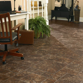 Beau Home Office/Study Designs Courtesy Of Mannington Vinyl Flooring   All  Rights Reserved.