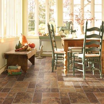 Dining Room Areas flooring idea : Naturals®, Socorro Slate by ...