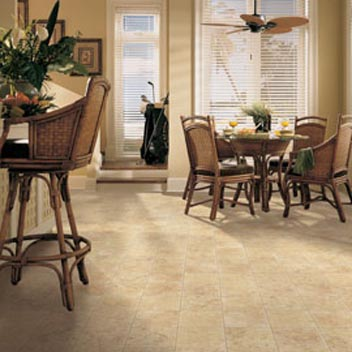 Dining Room Areas Designs Courtesy Of Mannington Vinyl Flooring