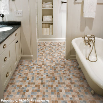Bathrooms Flooring Ideas and Choices