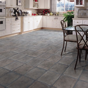 Kitchens flooring idea shaw laminate natural grande by for Laminate flooring ideas