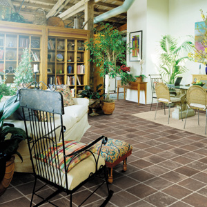 Sunrooms flooring idea shaw laminate natural splendor for Sunroom flooring ideas