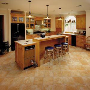 Kitchens flooring idea shaw laminate natural splendor for Kitchen laminate flooring ideas