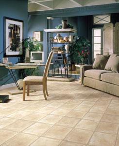 Home Office Study flooring idea Shaw Laminate Natural