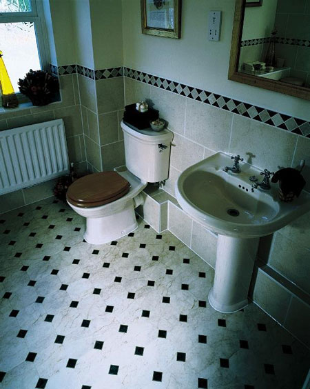 Bathroom flooring vinyl ideas bathroom vinyl flooring for Vinyl floor bathroom ideas