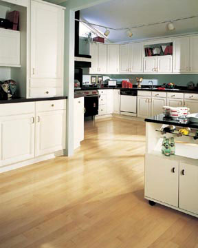Kitchens Flooring Idea Maple Natural By Anderson EnCore