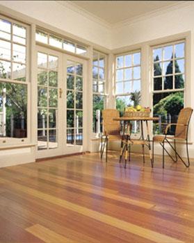 Sunrooms flooring idea alpine ash by boral timber flooring for Sunroom flooring ideas