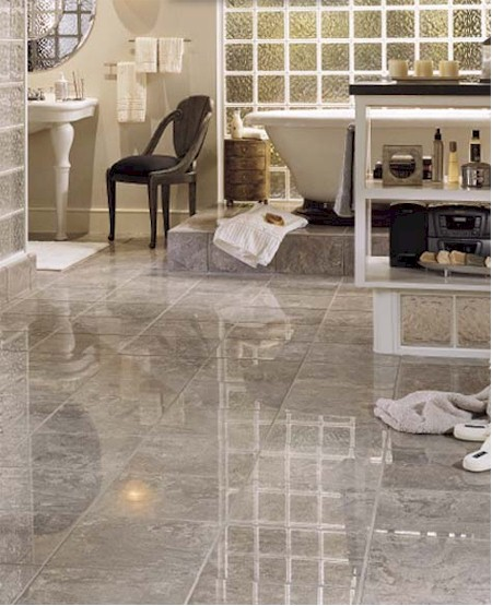Bathrooms flooring idea empire series by crossville Empire bathrooms