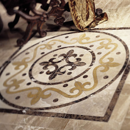 Lobbies Flooring Idea Medallions By Daltile Tile