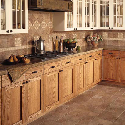 Kitchens flooring ideas room design and decorating options for Ceramic tile kitchen floor ideas